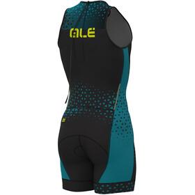Alé Cycling Rush Olympic Tri Herrer sort/petroleumsgrøn
